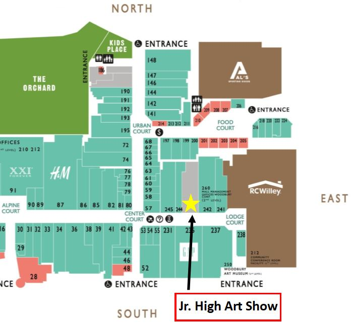 Rc Willey Orem: Alpine School District JR. High Art Show